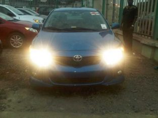 Toyota Corolla blue for the first body for sale in affordable price is full option