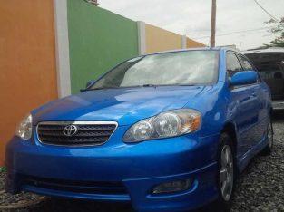 Toyota Corolla blue for sale