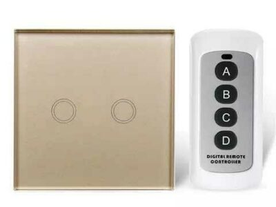 1, 2, 3, 4 Gang smart Touch Luxury Wall switch