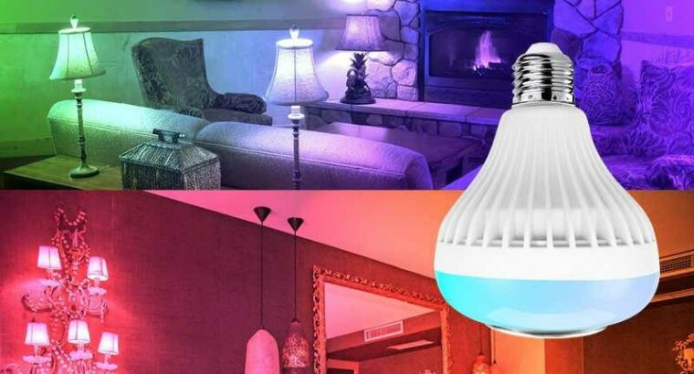 RGB Led Bulb with bluetooth and speaker