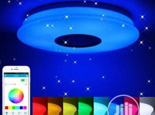RGB Ceiling light with Bluetooth and Speaker