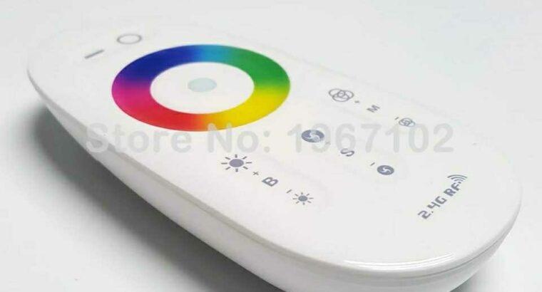 RF RGBW strip or Tape light Control