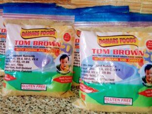TOM  BROWN (ORGANIC MULTI GRAIN FIBRE CEREAL)